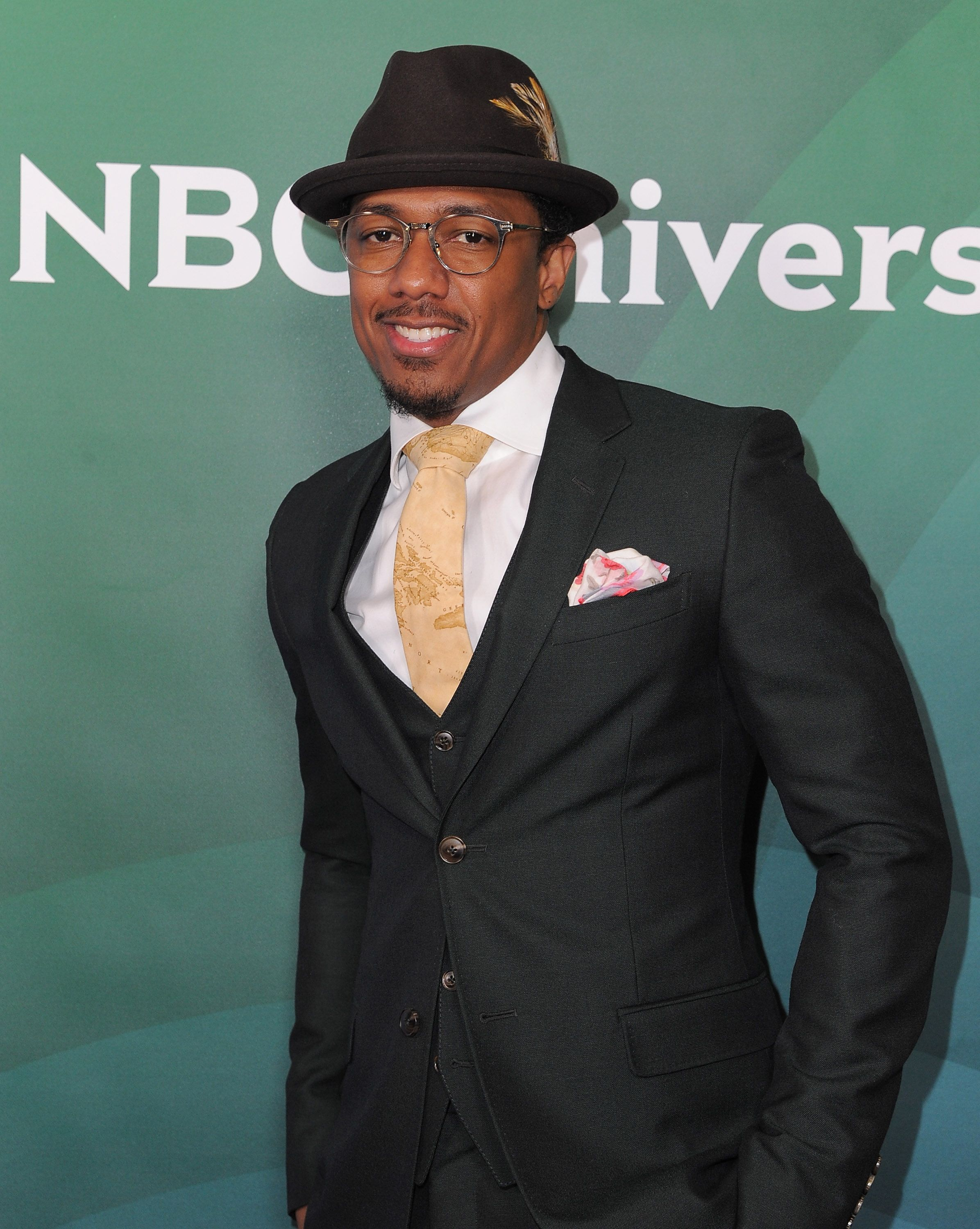 Nick Cannon at the Winter TCA Tour on January 14, 2016 in Pasadena. | Photo: Getty Images