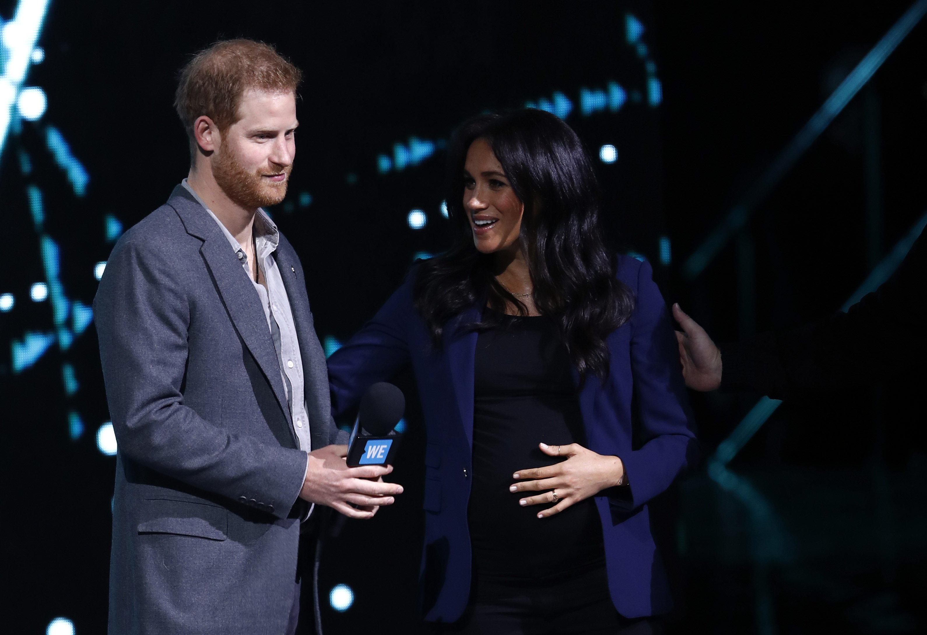Prince Harry and Meghan Markle onstage at the WE Day UK event in March 2019 | Photo: Getty Images