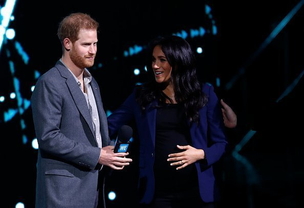 Meghan und Harry in der SSE Arena im März 2019 | Quelle: Getty Images