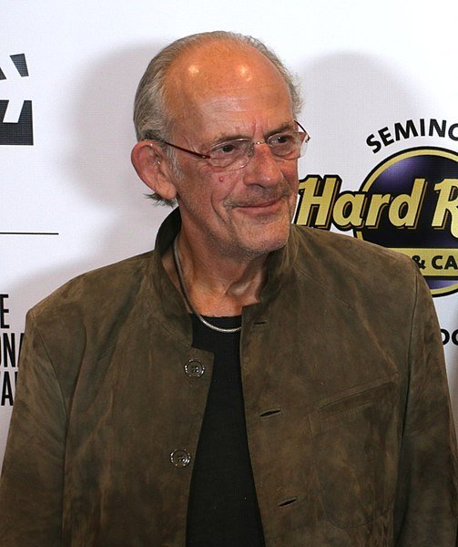 Christopher Lloyd at the Fort Lauderdale Film Festival, 2015. | Source: Wikimedia Commons