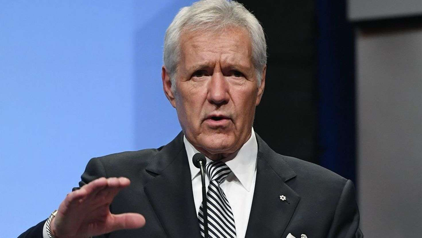 Trebek has crawled into the hearts of viewers everywhere. Image credit: Getty/GlobalImagesUkraine