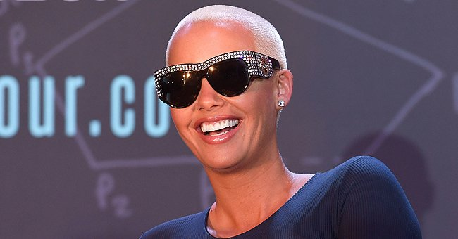 Amber Rose's Son Slash Electric Looks Adorable as He Attempts to Walk in Her Trendy Sneakers