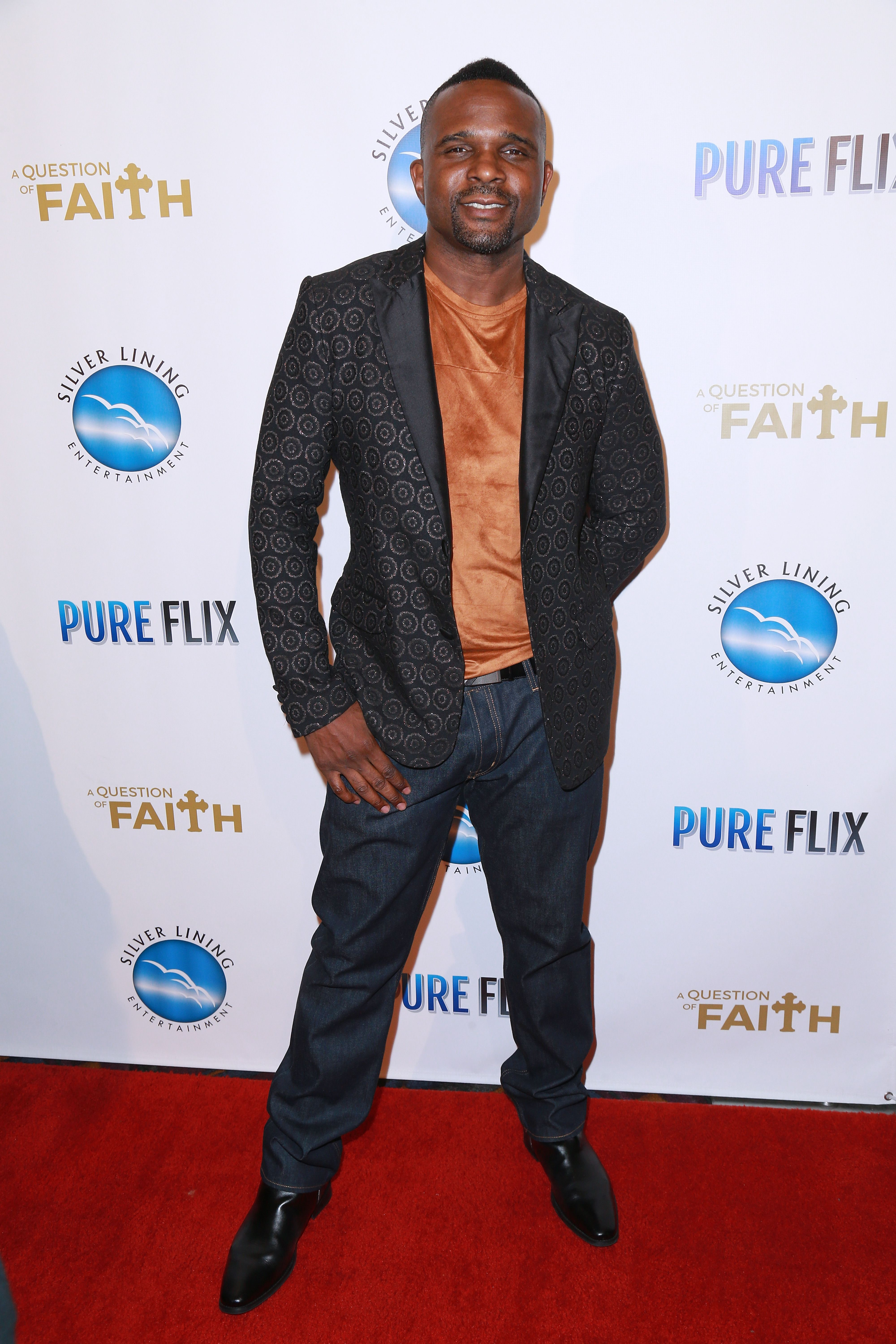 "Darius McCrary during the premiere of ""A Question of Faith"" at Regal 14 at LA Live Downtown on September 27, 2017 in Los Angeles, California. 