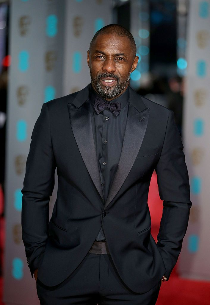 Idris Elba at the EE British Academy Film Awards in 2016 in London, England | Source: Getty Images