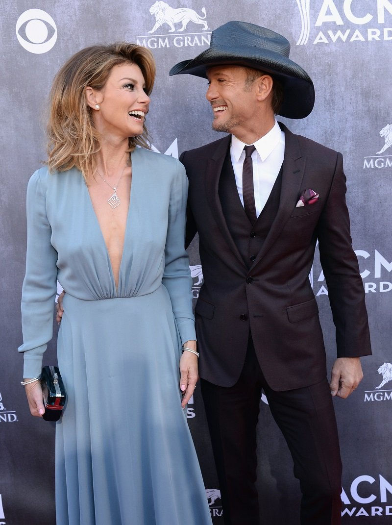Faith Hill and Tim McGraw on April 6, 2014 in Las Vegas, Nevada   Photo: Getty Images