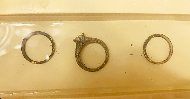 California Couple Finds Wedding Rings in the Ash after a Wildfire Destroyed Their House
