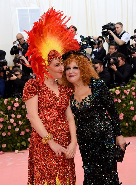 Sophie Von Haselberg and Bette Midler at Metropolitan Museum of Art on May 06, 2019 in New York City | Photo: Getty Images
