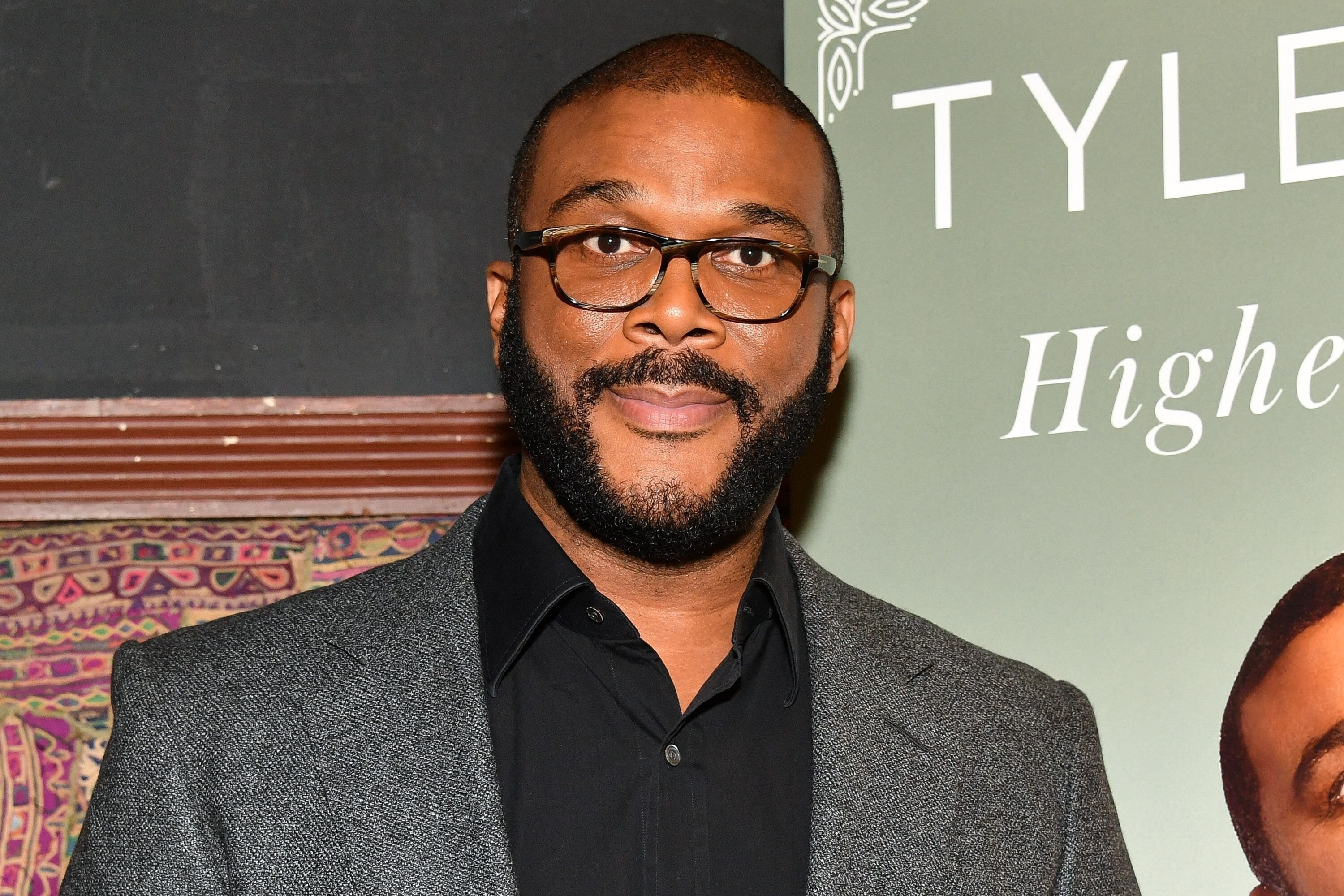 "Tyler Perry launches his new book ""Higher Is Waiting"" at the Gramercy Theatre in New York City 