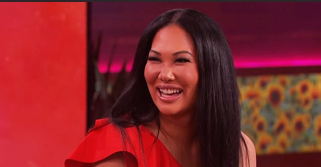 Kimora Lee Simmons Shares Family Photo with 5 Kids Posing on Staircase at Home Amid Quarantine