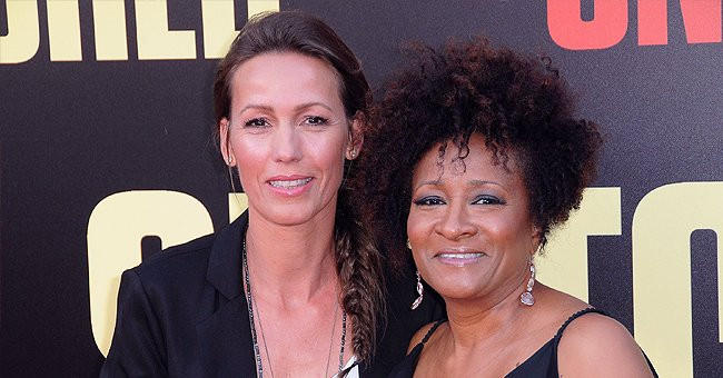 """Wanda Sykes and wife Alexa Sykes arrive for the premiere of 20th Century Fox's """"Snatched"""" held at Regency Village Theatre on May 10, 2017 