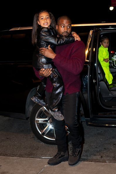 Kanye West and North West are seen in Midtown on December 21, 2019 | Photo: Getty Images