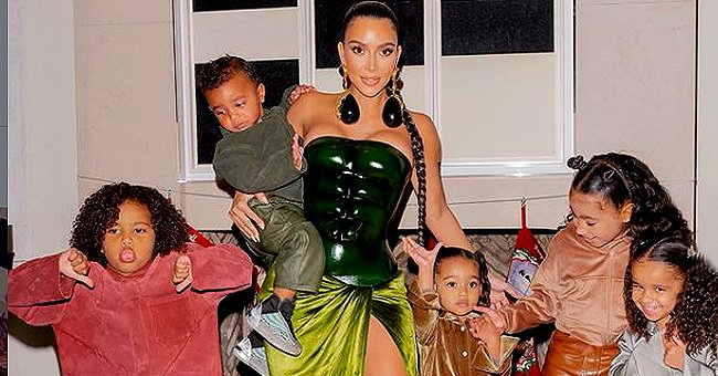Us Weekly: Kanye West Is Envious of Kim Kardashian & Amount of Time She Devoted to Their 4 Kids
