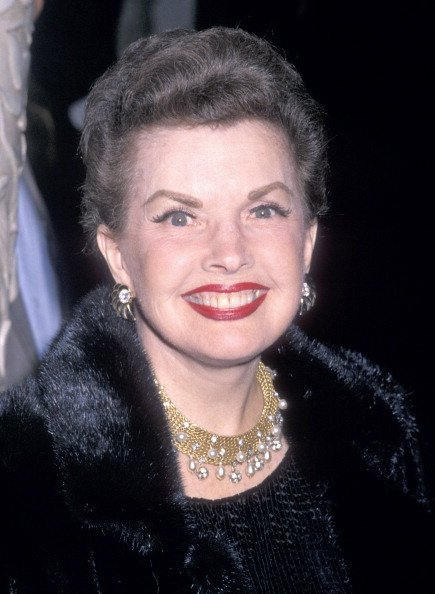 Gale Storm at the Murder, She Wrote 100th Episode Celebration on February 12, 1989 | Photo: Getty Images