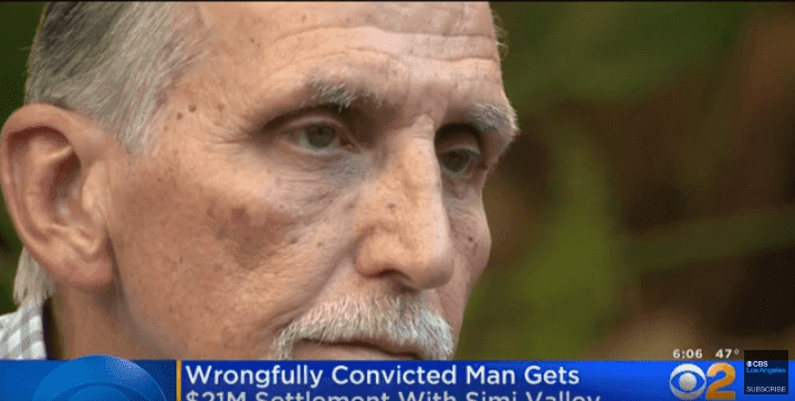 La cárcel se llevó los mejores años de su vida-Imagen tomada de YouTube-CBS Los Ángeles