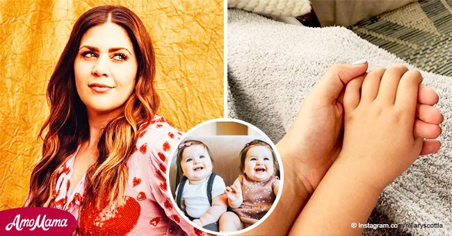 Lady Antebellum's Hillary Scott shares photos of her twins celebrating their first birthday