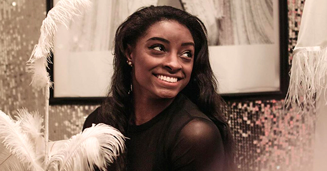 Gymnast Simone Biles Stuns in Black Outfit after Brother Tevin Is Arrested in Ohio Triple Murder
