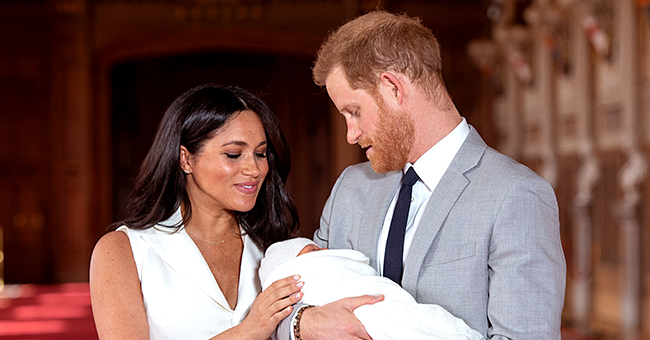 Meghan Markle & Prince Harry Reveal Baby Archie's Face for Father's Day