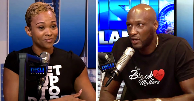 Watch Lamar Odom & New Lady Sabrina Parr Talk about Dating Amid Fake Relationship Rumors