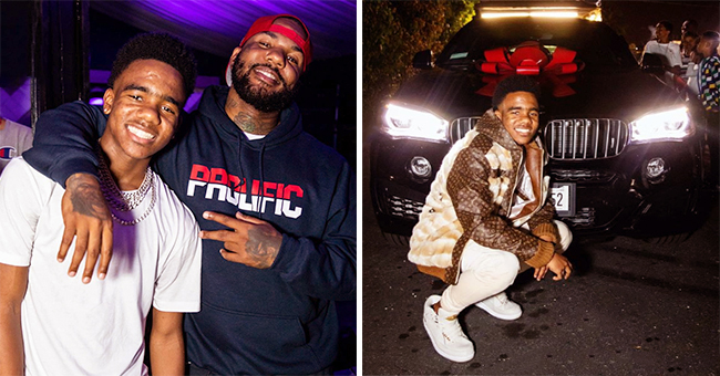 The Game Throws Epic Party for Son's 16th Birthday & Gives Him a Luxury BMW