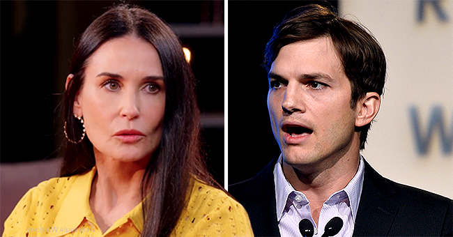 Demi Moore of 'The Scarlet Letter' Talks about Her Struggles with Ex-Husband Ashton Kutcher on 'Red Table Talk'