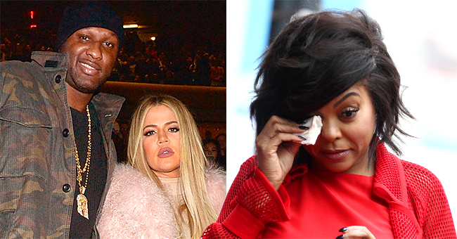 Lamar Odom Says He Started Falling in Love with Khloé Kardashian While Dating Taraji P Henson
