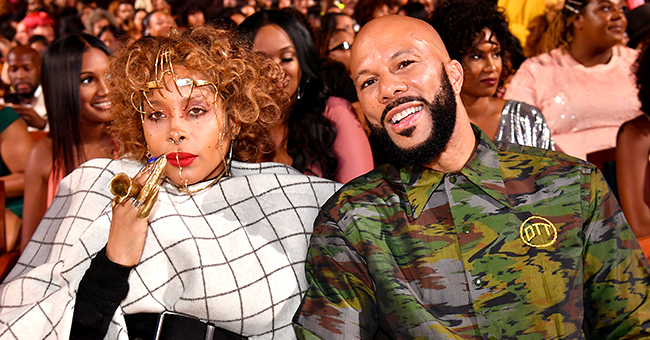 Common Spotted with 'First Love' Erykah Badu at 2019 Black Girls Rock! Awards