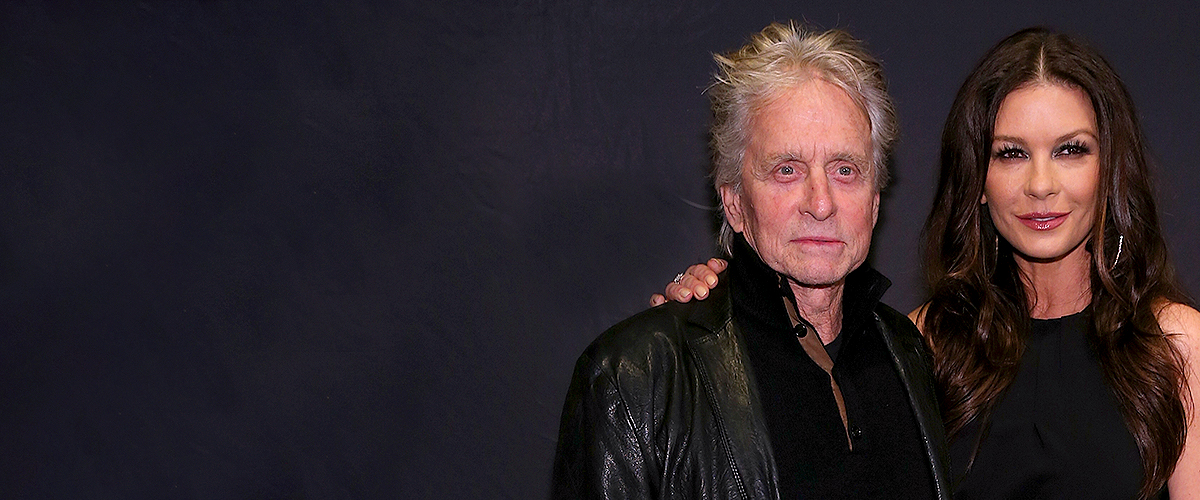 Michael Douglas' Children Carys and Dylan Are All Grown up in Classy Black and White Photo