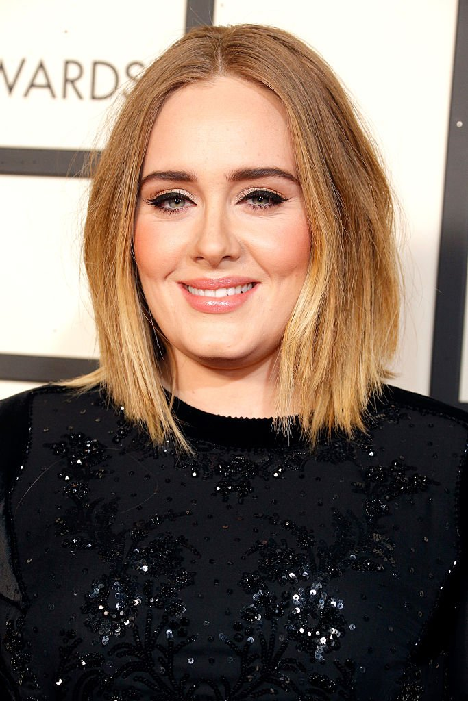 Adele pictured The 58th GRAMMY Awards at Staples, 2016, Los Angeles, California.   Photo: Getty Images