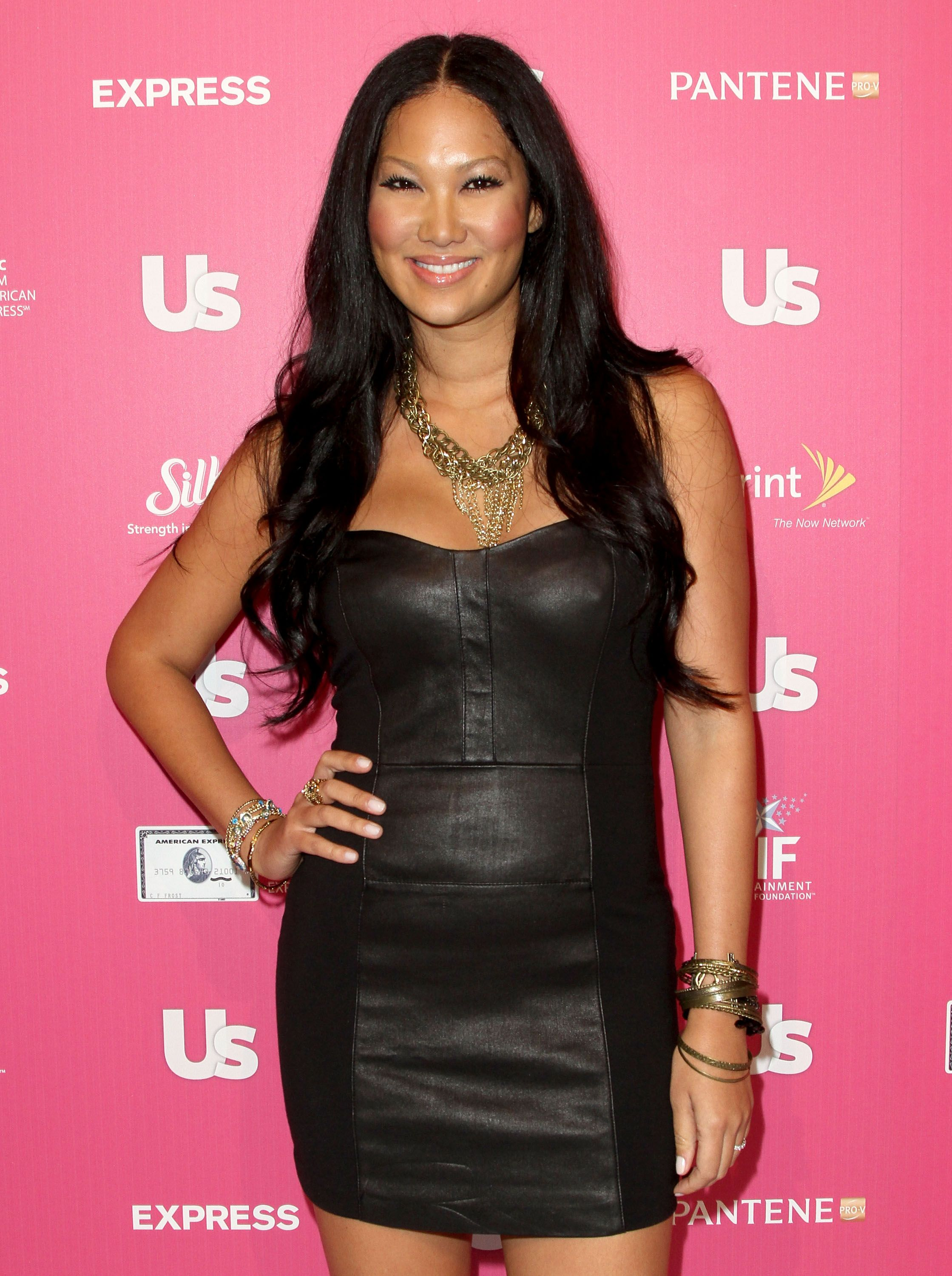 Kimora Lee Simmons at Us Weekly on November 18, 2010 in Hollywood.   Photo: Getty Images