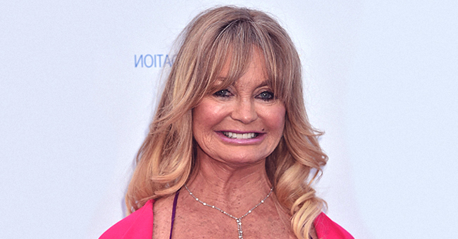 Goldie Hawn Lulls Her 7-Month-Old Granddaughter in a New Video