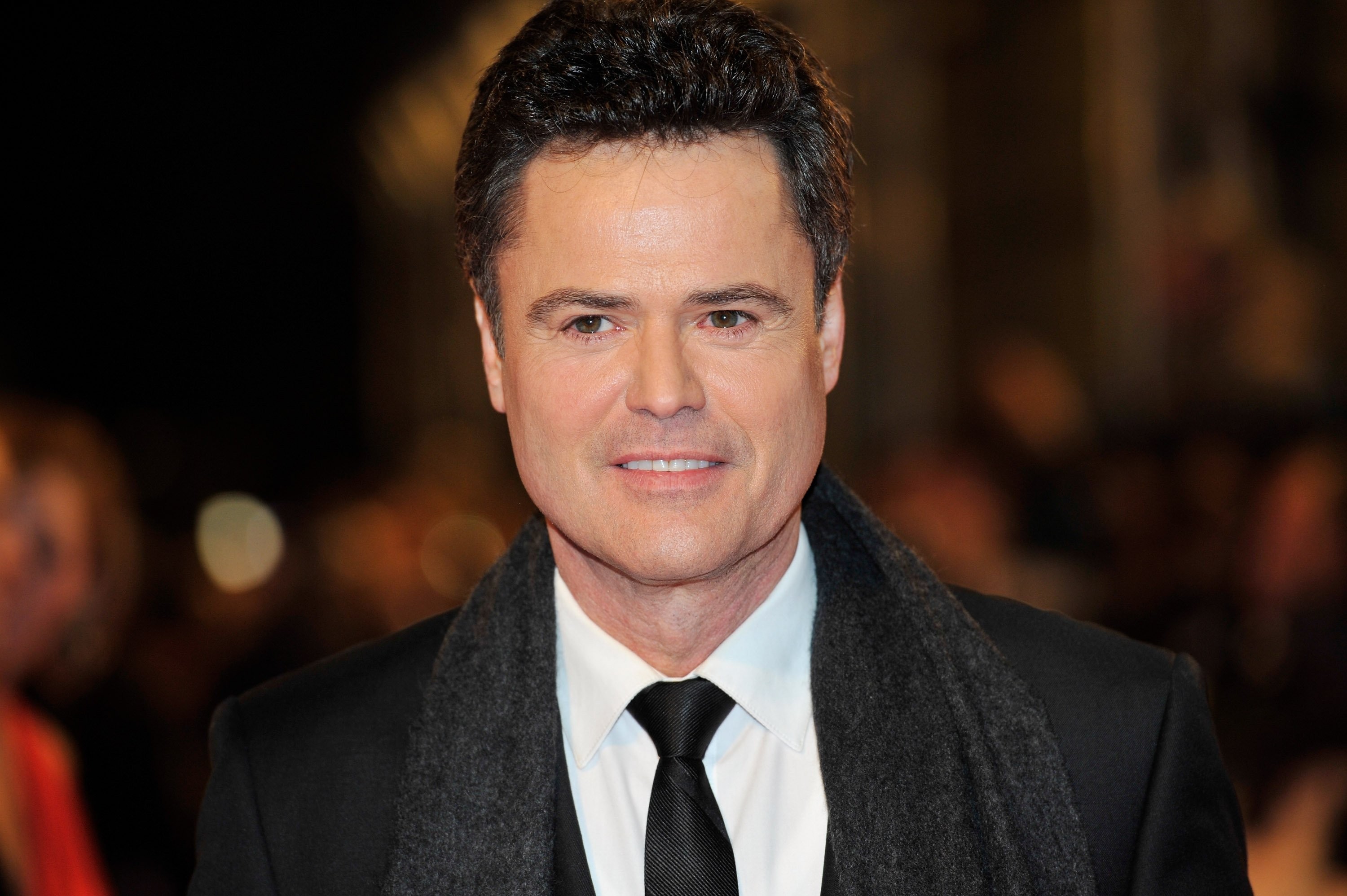 Donny Osmond attends the National Television Awards in London, England on January 23, 2013 | Photo: Getty Images