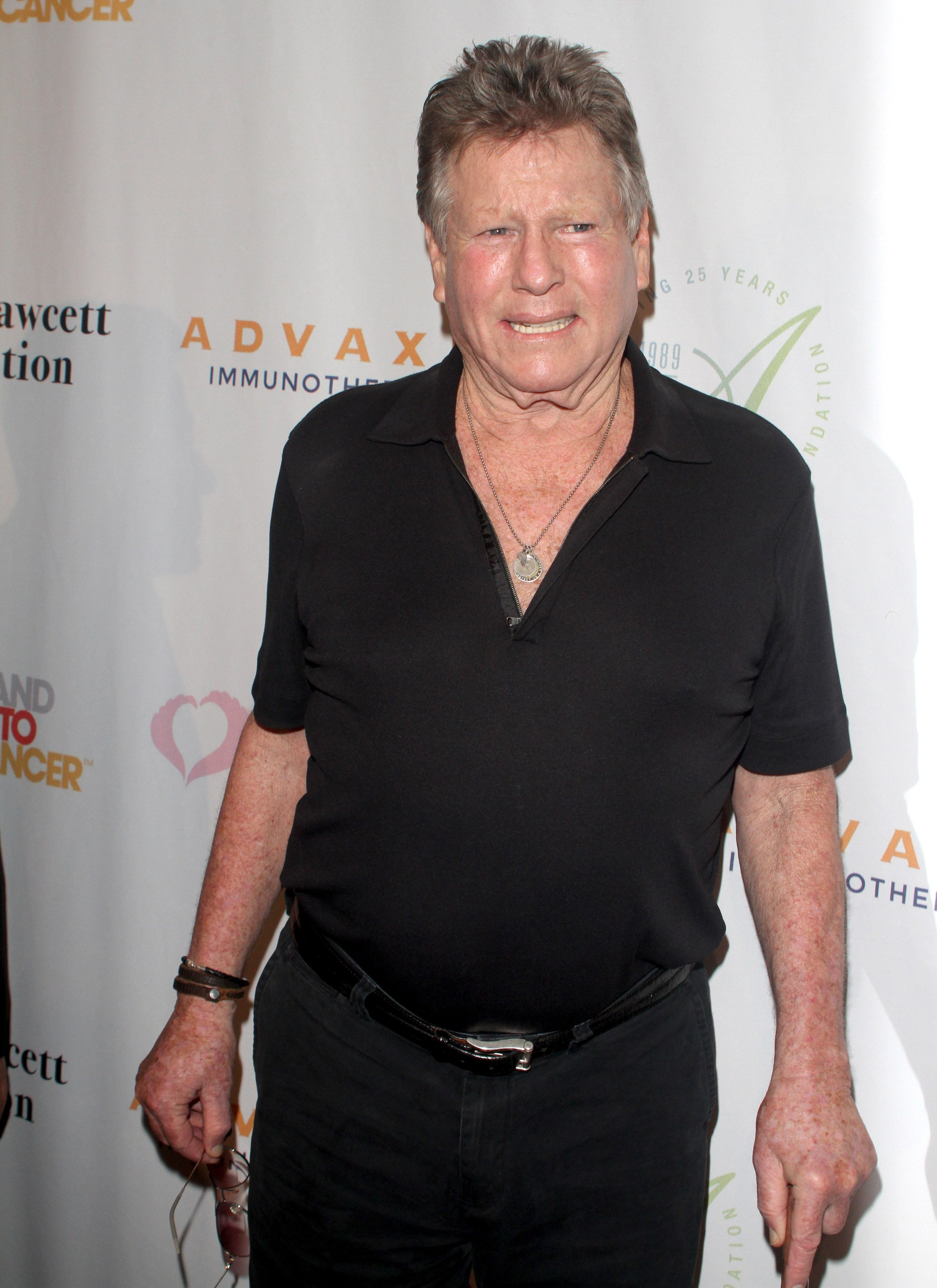 Ryan O'Neal attends the Farrah Fawcett Foundation 1st annual Tex-Mex Fiesta at Wallis Annenberg Center for the Performing Arts on September 9, 2015 in Beverly Hills, California | Photo: Getty Images
