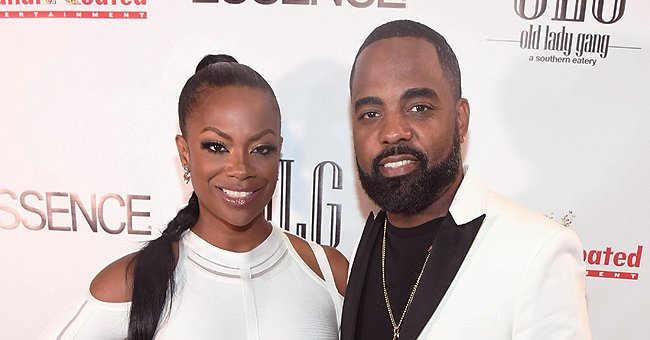 Kandi Burruss of RHOA Snaps Pic of Husband Todd Tucker & Baby Blaze Having a Father-Daughter Talk