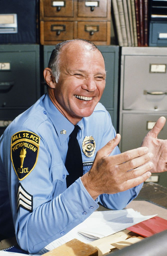 "Michael Conrad as Sgt. Phil Esterhaus in ""Hill Street Blues"" -- Season 1 
