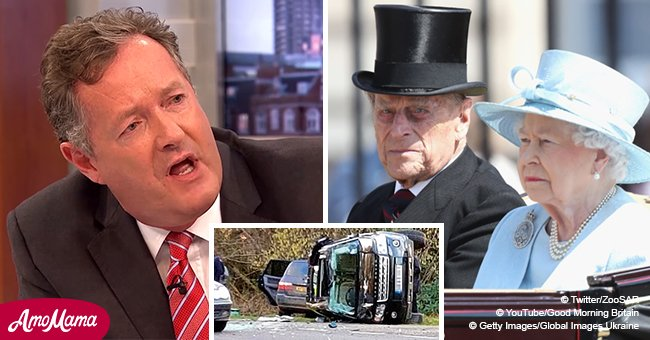 Morning TV show host slams Prince Philip as 'rudest human being I have ever met' over car crash