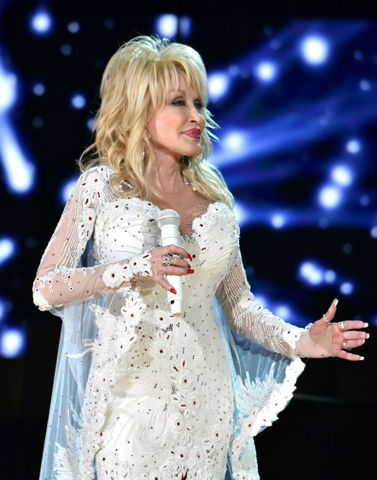 Dolly Parton performing. I Image: Getty Images.