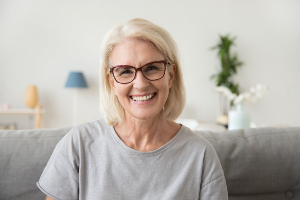 A photo of a grey-haired woman looking at the camera.   Photo: Shutterstock