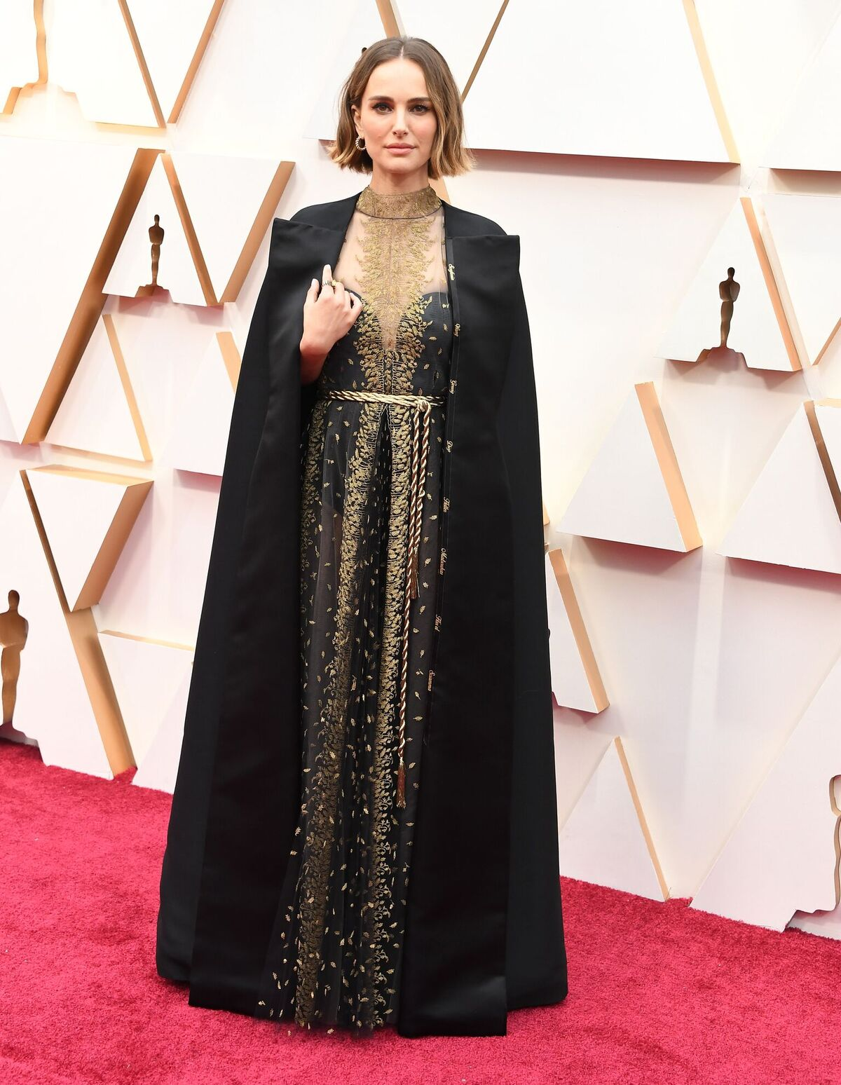 Natalie Portman at the 92nd Annual Academy Awards on February 09, 2020, in Hollywood, California | Photo: Steve Granitz/WireImage/Getty Images