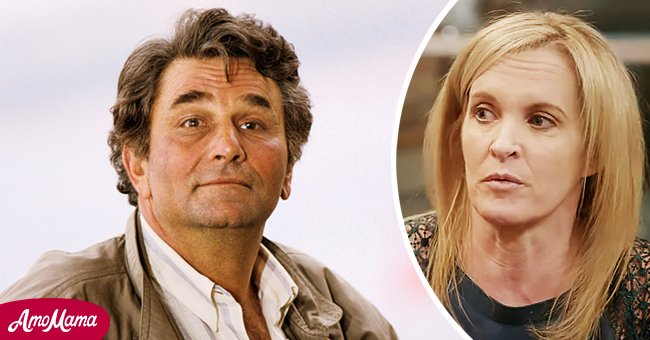 """Peter Falk on """"Columbo"""" and his daughter Catherine 