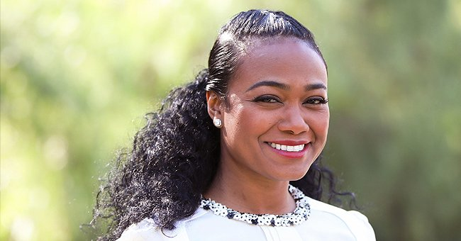 Tatyana Ali Melts Hearts with Video of Her Husband Rubbing Their Son's Foot on His Beard