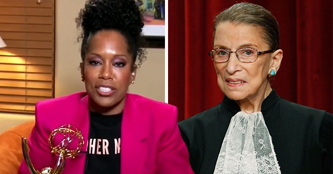 Here's How Regina King Paid Tribute to Ruth Bader Ginsburg after Accepting Her Emmy Award