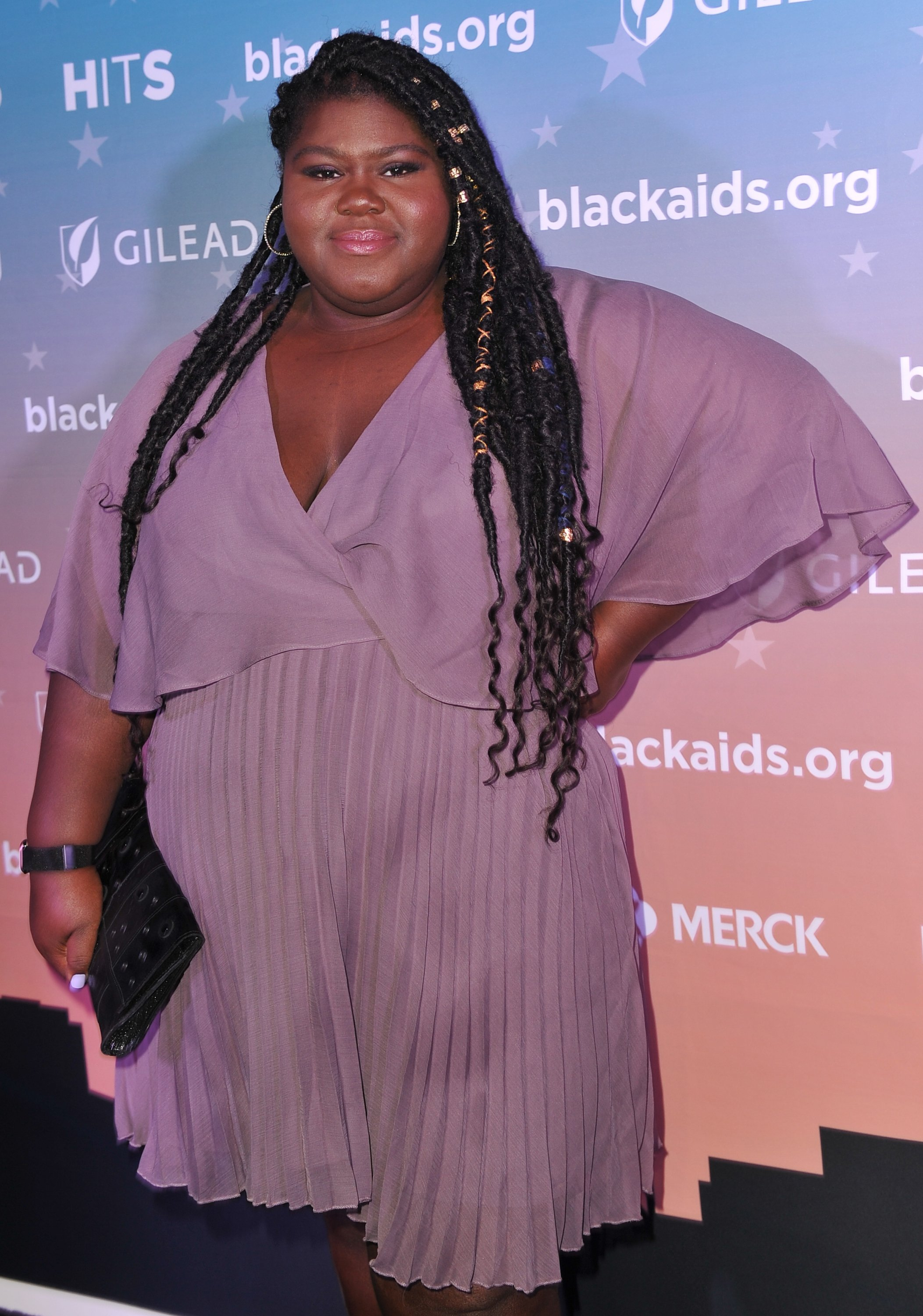 Gabourey Sidibe at the Black AIDS Institute's 2018 Heroes in The Struggle Gala, 2018 in Los Angeles, California   Source: Getty Images