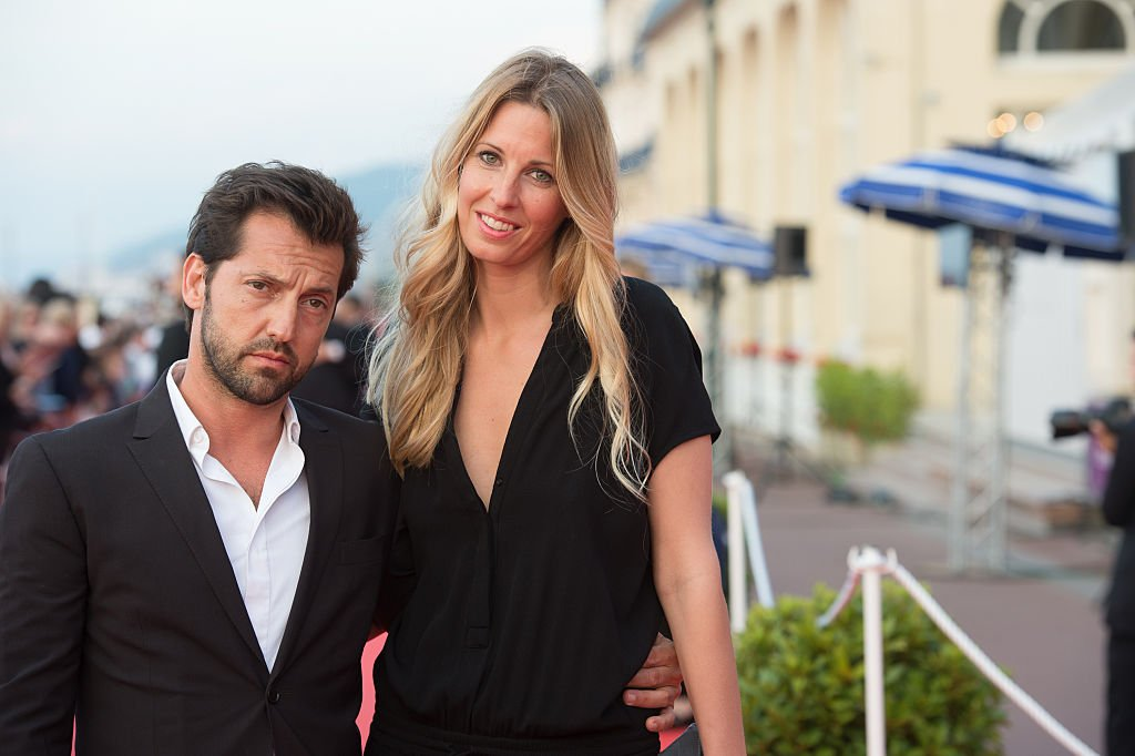 Frédéric Diefenthal et sa compagne | photo : Getty Images