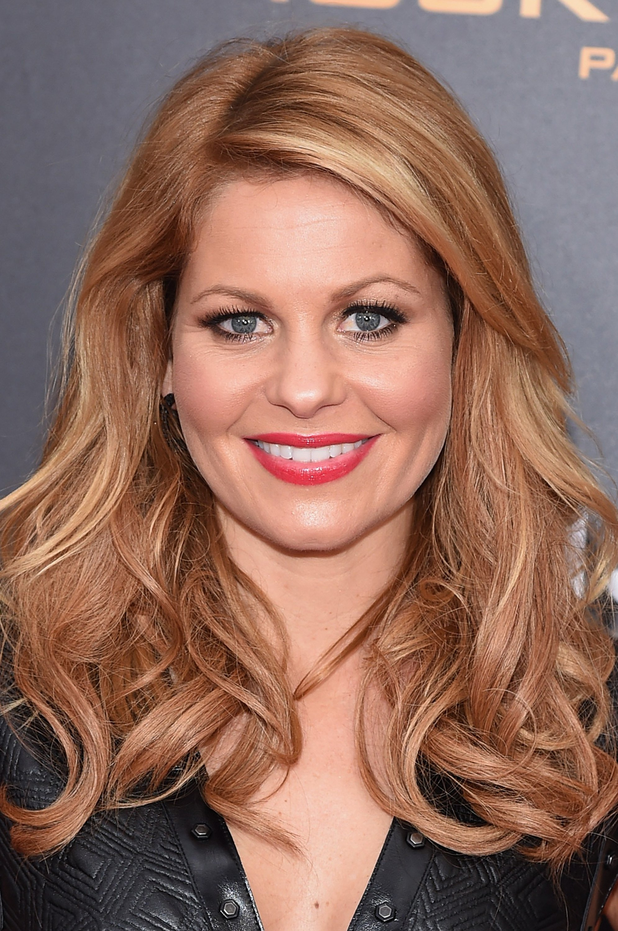 "Candace Cameron atttends ""The Hunger Games: Mocking-jay- Part 2"" New York Premiere on November 18, 2015, in New York City. 