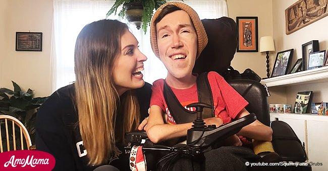 """Ein behinderter Mann und eine """"gewöhnliche"""" Frau überwinden alle Hindernisse, um zusammen zu sein"""