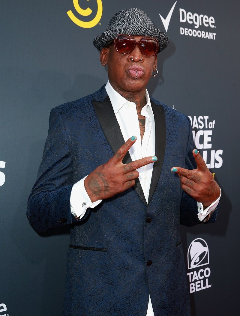 Dennis Rodman on July 14, 2018 in Los Angeles, California | Photo: Getty Images