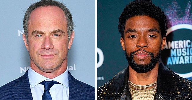 Christopher Meloni Reflects on Working with Late Chadwick Boseman during Golden Globes Pre-show