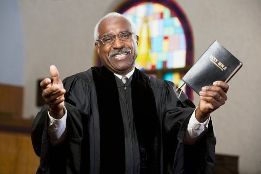 A black Priest | Photo: Getty Images