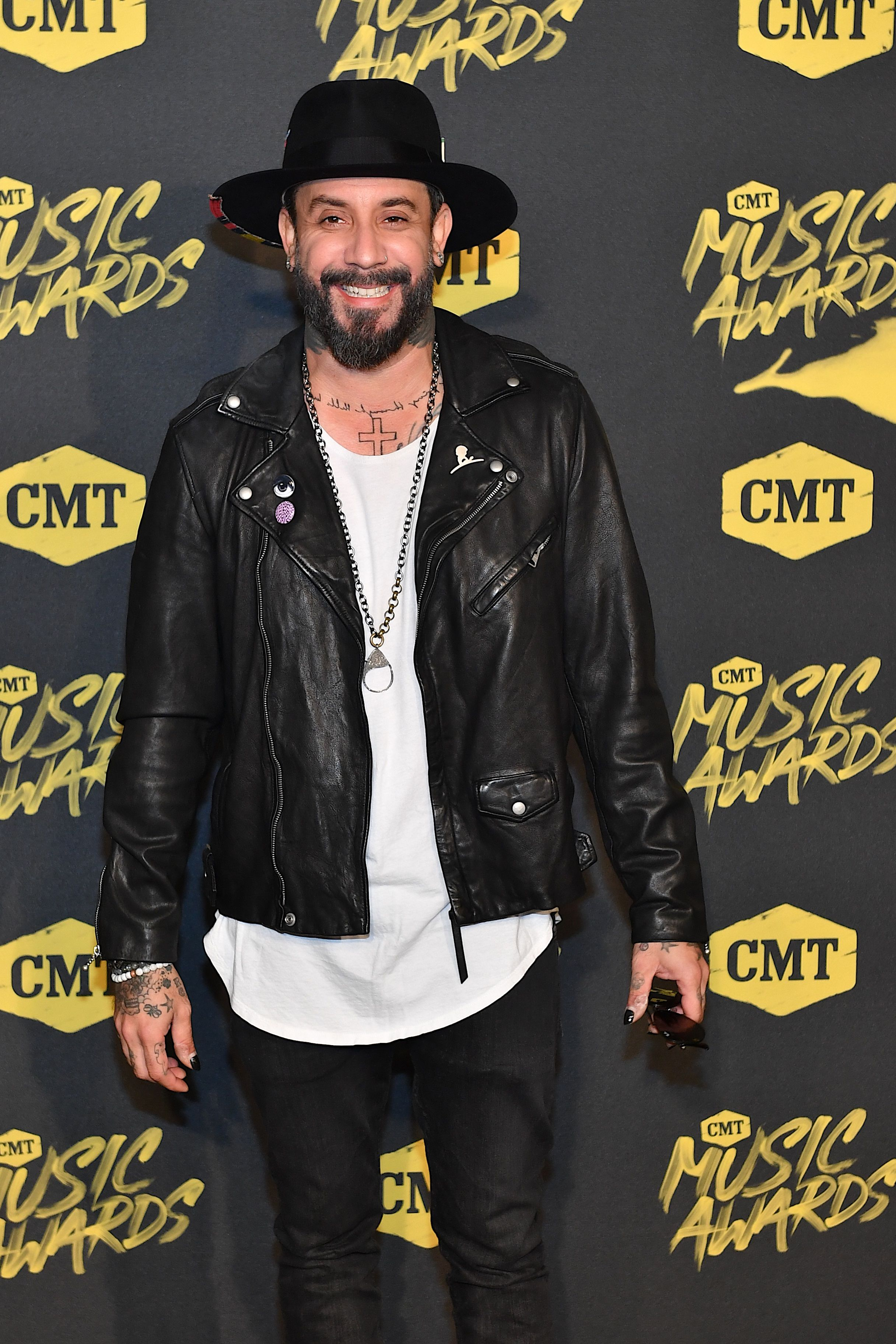 A.J. McLean at the 2018 CMT Music Awards at Bridgestone Arena on June 6, 2018 in Nashville, Tennessee. | Photo: Getty Images.