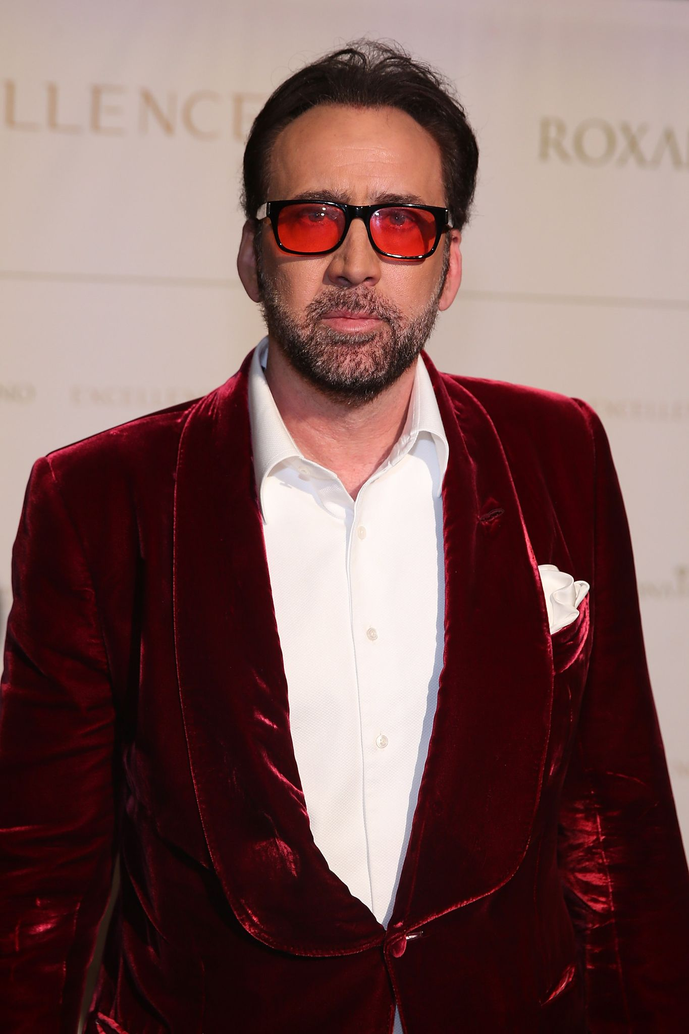 Nicolas cage attends the closing night reception at Salone del Tronoin Palazzo Corsini as part of Celebrity Fight Night Italy Benefiting The Andrea Bocelli Foundation | Getty Images